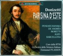 Parisina D'Este - CD Audio di Gaetano Donizetti