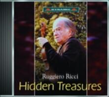 Hidden Treasures - CD Audio di Ruggiero Ricci