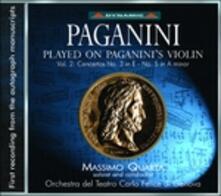 Concerti per violino n.3, n.5 - CD Audio di Niccolò Paganini