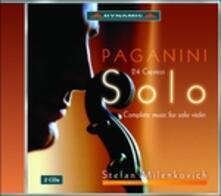 Integrale della musica per violino solo - CD Audio di Niccolò Paganini