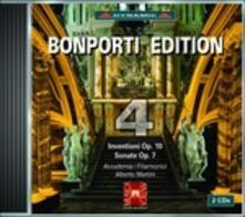 Bonporti Edition vol.4 - CD Audio di Francesco Antonio Bonporti