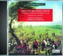 Concerti per violino vol.9 - CD Audio di Giovanni Battista Viotti,Franco Mezzena