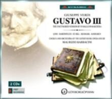 Gustavo III - CD Audio di Giuseppe Verdi