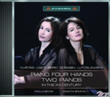 Musica per due pianoforti nel Novecento - CD Audio