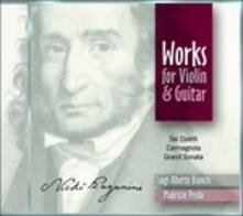 Musica per violino e chitarra - CD Audio di Niccolò Paganini,Luigi Alberto Bianchi,Maurizio Preda