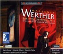 Werther (Versione per baritono) - CD Audio di Jules Massenet