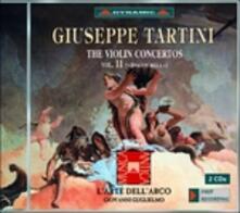 Concerti per violino vol.11 - CD Audio di Giuseppe Tartini,L' Arte dell'Arco,Giovanni Guglielmo