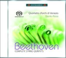 Quintetti per archi completi - SuperAudio CD di Ludwig van Beethoven,Quartetto di Venezia
