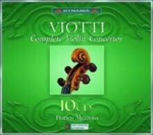 Concerti per violino completi - CD Audio di Giovanni Battista Viotti,Franco Mezzena