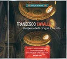 Vespero Delli Cinque Laudate - CD Audio di Francesco Cavalli