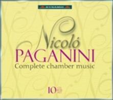 Musica da camera completa - CD Audio di Niccolò Paganini,Salvatore Accardo