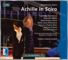 Achille in Sciro - CD Audio di Federico Maria Sardelli,Orchestra Internazionale d'Italia,Gabriella Martellacci,Marcello Nardis,Domenico Sarri
