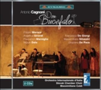 Don Bucefalo - CD Audio di Orchestra Internazionale d'Italia,Massimiliano Caldi,Antonio Cagnoni,Filippo Morace,Angelica Girardi