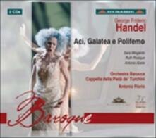 Aci, Galatea e Polifemo - CD Audio di Georg Friedrich Händel