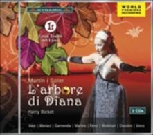 L'arbore di Diana - CD Audio di Harry Bicket,Vincent Martin Y Soler