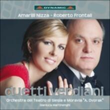Duetti verdiani - CD Audio di Giuseppe Verdi,Amarilli Nizza,Roberto Frontali