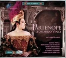 La Partenope - CD Audio di Leonardo Vinci