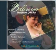 Bellissimo Italian Opera - CD Audio