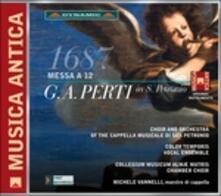 Messa a 12 - CD Audio di Giacomo Antonio Perti