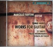 Musica per chitarra - CD Audio di Tomas Marco,Marcello Fantoni