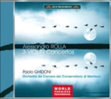 Concerti - CD Audio di Alessandro Rolla