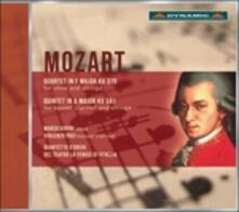 Quartetto per oboe e archi K370 - Quintetto per clarinetto e archi K581 - CD Audio di Wolfgang Amadeus Mozart