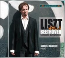 Le sinfonie di Beethoven vol.1 - CD Audio di Franz Liszt
