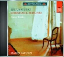 Sonata per pianoforte - Mazurca - Scherzo - CD Audio di Julius Reubke