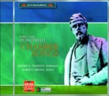Arie da camera - CD Audio di Amilcare Ponchielli,Federica Zanello