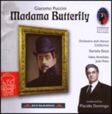 Madama Butterfly - CD Audio di Placido Domingo,Giacomo Puccini,Daniela Dessì,Fabio Armiliato,Juan Pons,Orchestra Città Lirica
