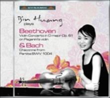 Concerto per Violino - Partita Bwv - Ciaccona - CD Audio di Johann Sebastian Bach,Ludwig van Beethoven,Bin Huang