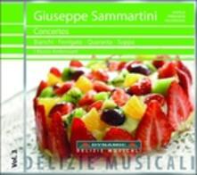 Concerti - CD Audio di Giuseppe Sammartini,Musici Ambrosiani,Paolo Suppa