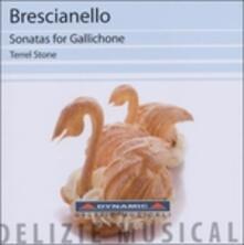 Sonate per gallicone - CD Audio di Giuseppe Antonio Brescianello,Terrel Stone