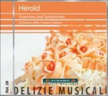 Sinfonie n.1, n.2 - Ouvertures - CD Audio di Wolf-Dieter Hauschild,Ferdinand Herold