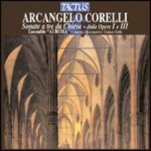 Sonate da chiesa - CD Audio di Arcangelo Corelli,Ensemble Aurora