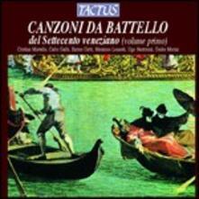 Canzoni da battello del Settecento veneziano vol.I - CD Audio