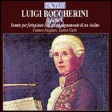 Sonate per fortepiano e un violino op.5 - CD Audio di Luigi Boccherini