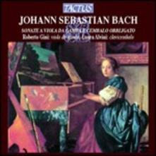 Sonate per viola da gamba e cembalo obbligato - CD Audio di Johann Sebastian Bach