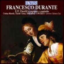 Duetti a soprano e contralto - CD Audio di Francesco Durante