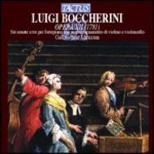 6 sonate a tre per cembalo e fortepiano - CD Audio di Luigi Boccherini