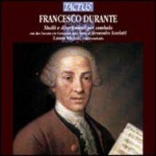 Studi e divertimenti per cembalo - CD Audio di Francesco Durante
