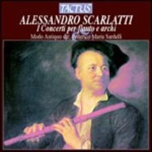 Concerti per flauto e archi - CD Audio di Alessandro Scarlatti