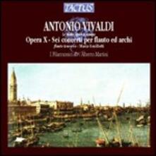 Concerti per flauto op.10 - CD Audio di Antonio Vivaldi