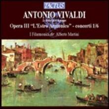 L'estro armonico. Concerti n.1, n.2, n.3, n.4, n.5, n.6 - CD Audio di Antonio Vivaldi
