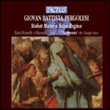 Stabat Mater - Salve Regina - CD Audio di Giovanni Battista Pergolesi,Katia Ricciarelli