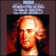 Sonate a tre op.5 - CD Audio di Pietro Locatelli,Federico Maria Sardelli
