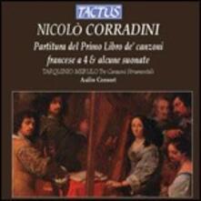 Partitura del Primo Libro - CD Audio di Nicolò Corradini