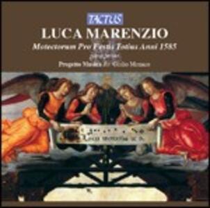 Motectorum Pro Festis Totius Anni parte prima - CD Audio di Luca Marenzio