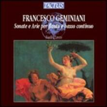 Sonate e arie per flauto e basso continuo - CD Audio di Francesco Geminiani