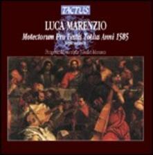 Motectorum Pro Festis Totius Anni parte seconda - CD Audio di Luca Marenzio